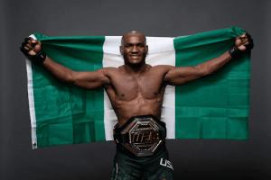 Kamaru Usman defends UFC title