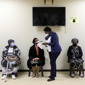 South Africa expands COVID vaccinations to cover older people