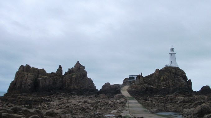 Visiting La Corbiere Lighthouse Jersey