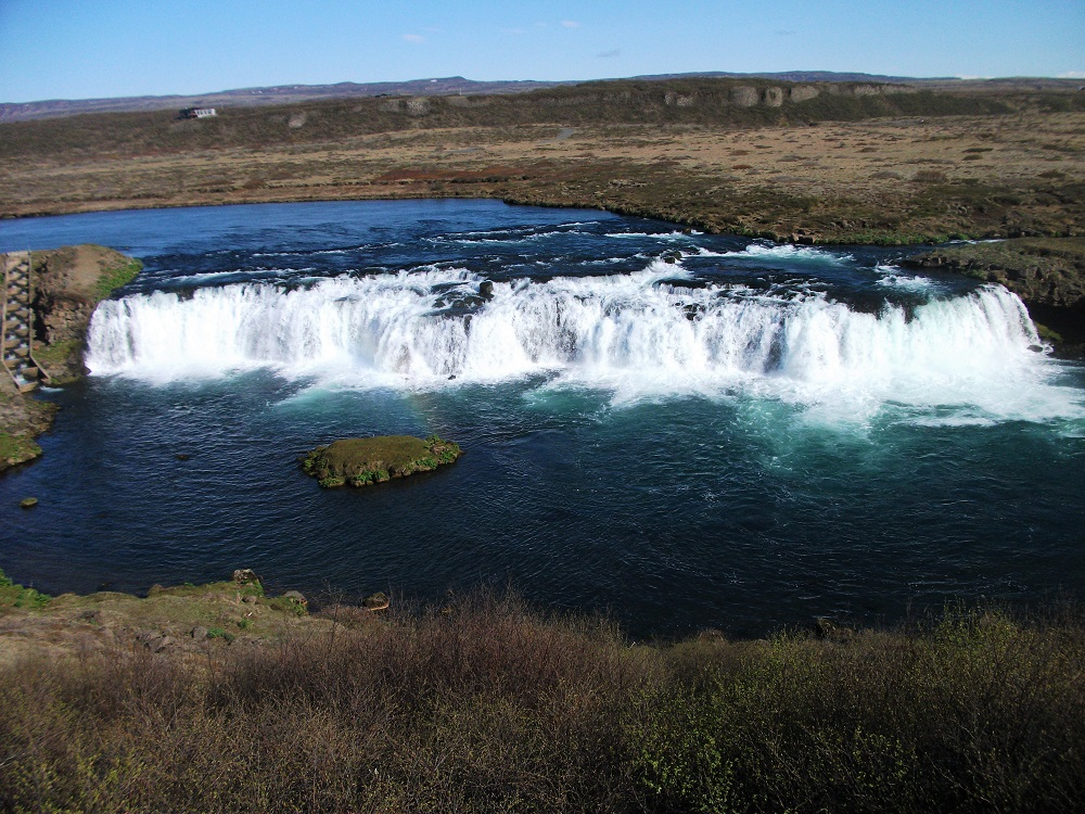 Faxi Waterfall on Iceland's Golden Circle route