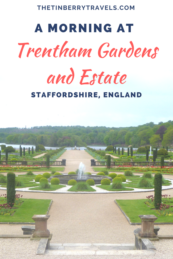 Thinking of visiting the Trentham Estate? Here's what we got up to on or morning visit! | Days Out in England | #Staffordshire #England #Europe