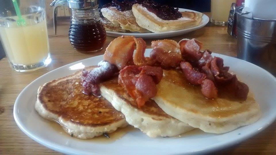 Roasters Bacon and Maple Pancakes