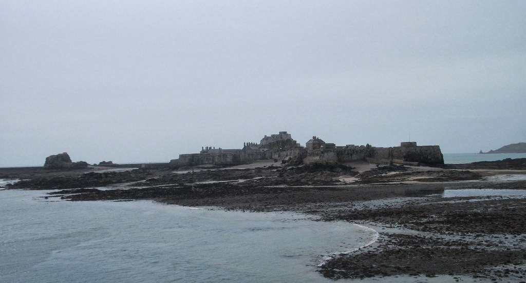 Elizabeth Castle, from St Helier