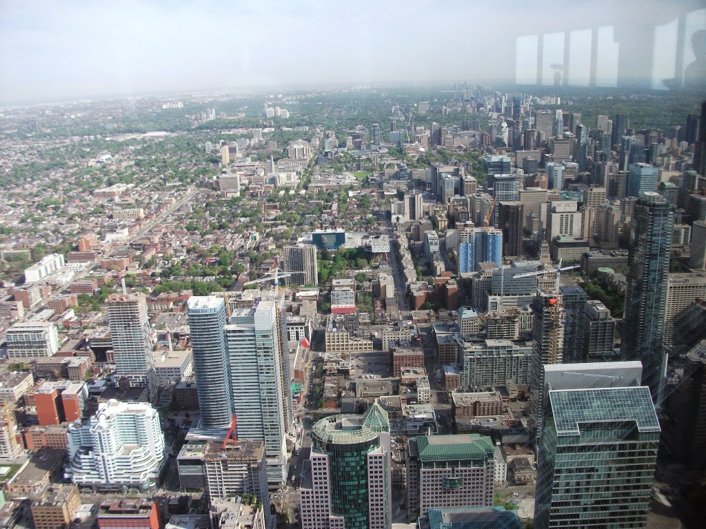 View from the CN Tower, Toronto