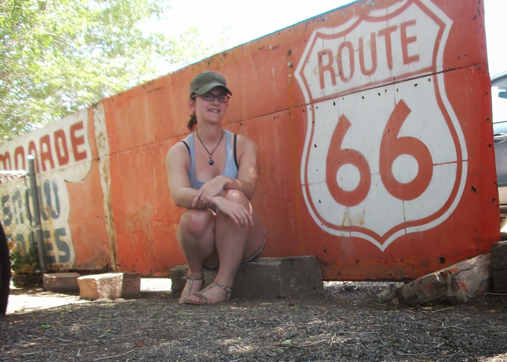 Route 66 at Seligman