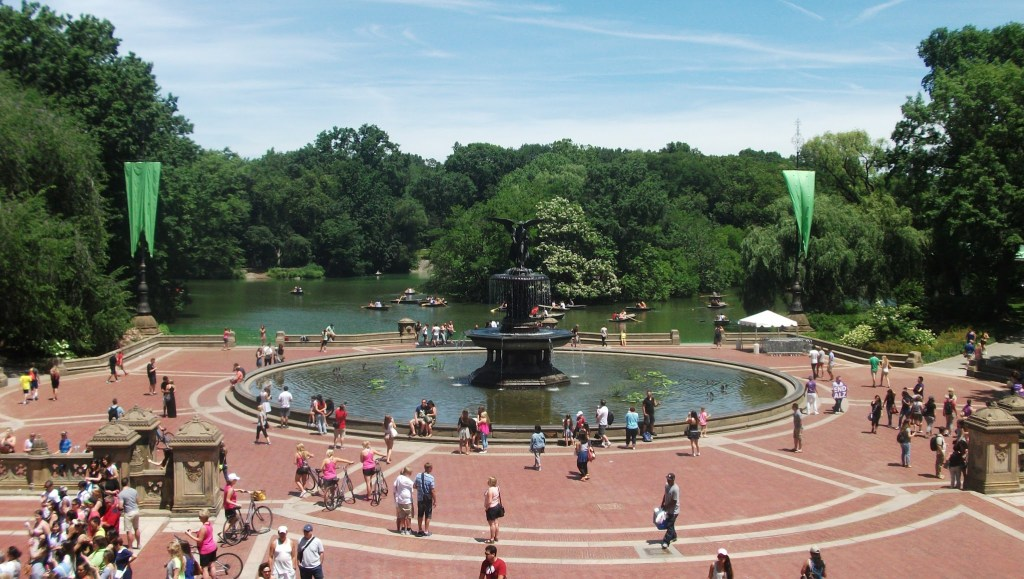 Bethesda Fountain - Angel of the Waters in Central Park, NYC