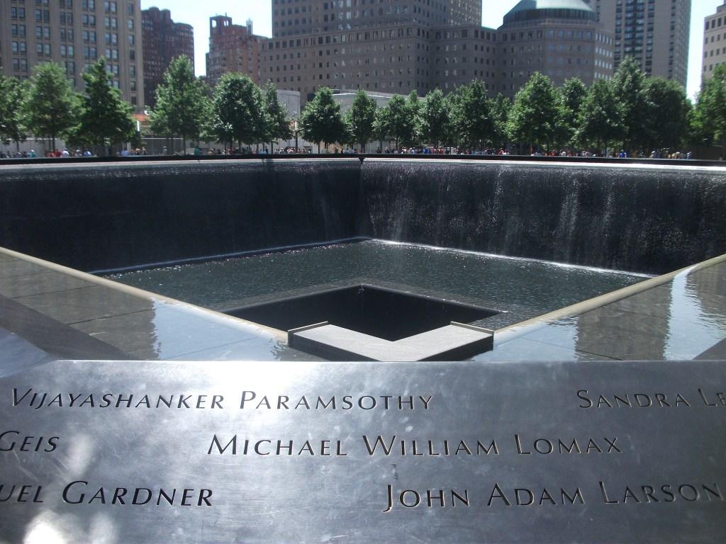 The 9/11 Memorial in Manhattan