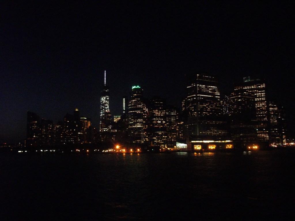 The nightlights of Manhattan