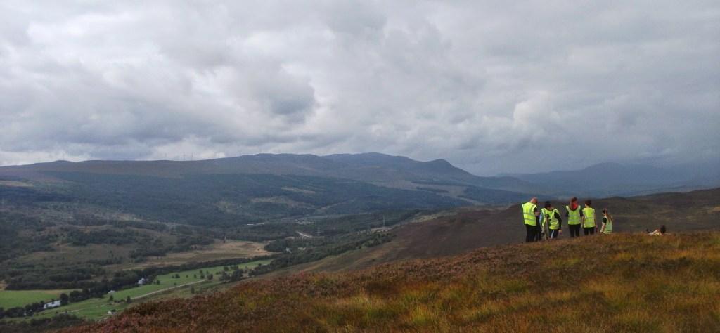 Dundreggan Estate, Invermoriston in the Scottish Highlands