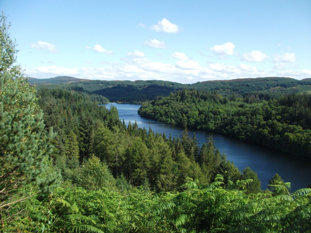 Three Lochs Forest Drive and Loch Katrine - the tinberry travels