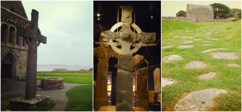 Several attractions of Iona Abbey