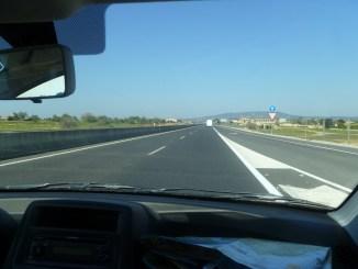 Driving Mallorca (Majorca) Spain