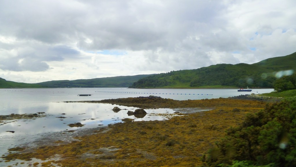Mull's coastline, our first stop on the Three Isles Tour