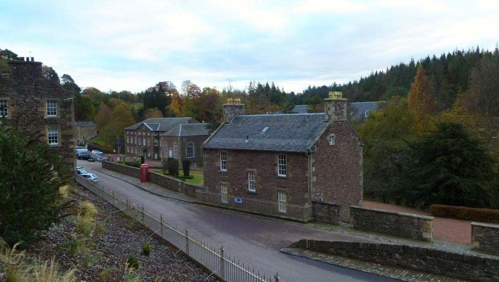 Houses within New Lanark