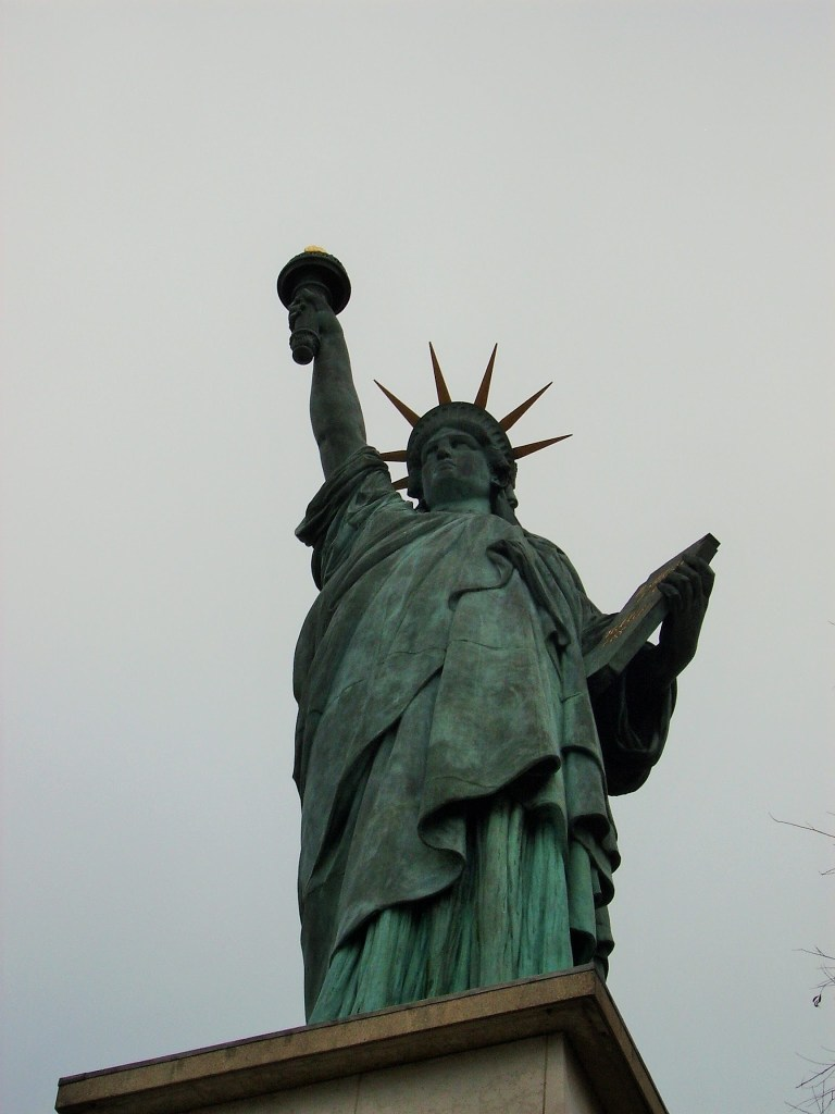 The Statue of Liberty on the Seine, Paris