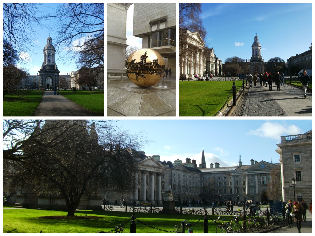 Trinity College Dublin on my two day visit