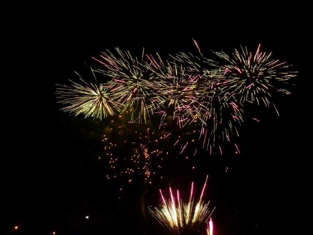 Fireworks on Guy Fawkes Night