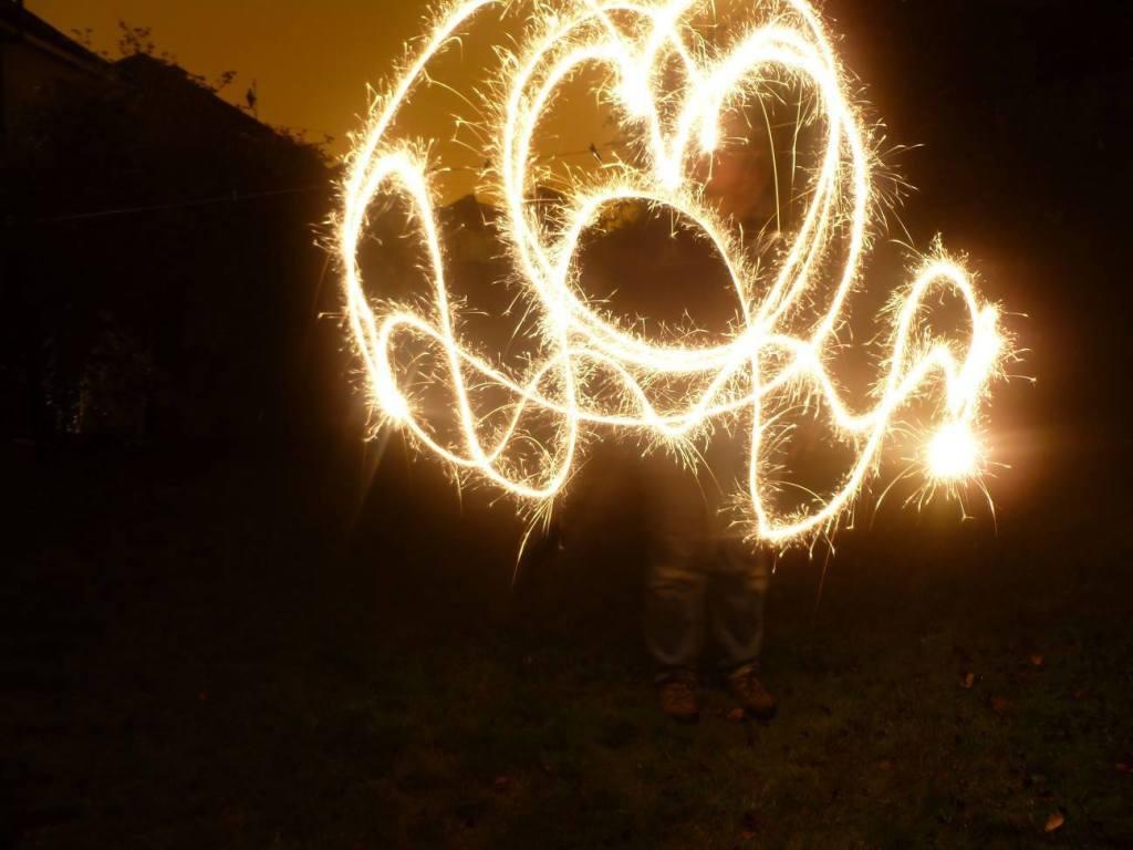 Fireworks Garden Party Sparklers