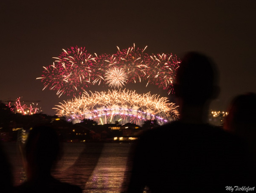 World famous fireworks for Sydney's New Year
