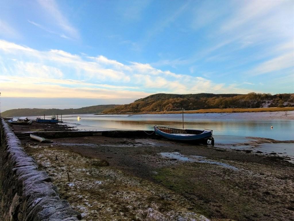 Boats at Kippford, Dumfries and Galloway