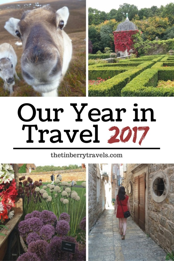 What did 2017 have in store for the tinberry travels? Find out our travel highlights over the year from our trips near and far.