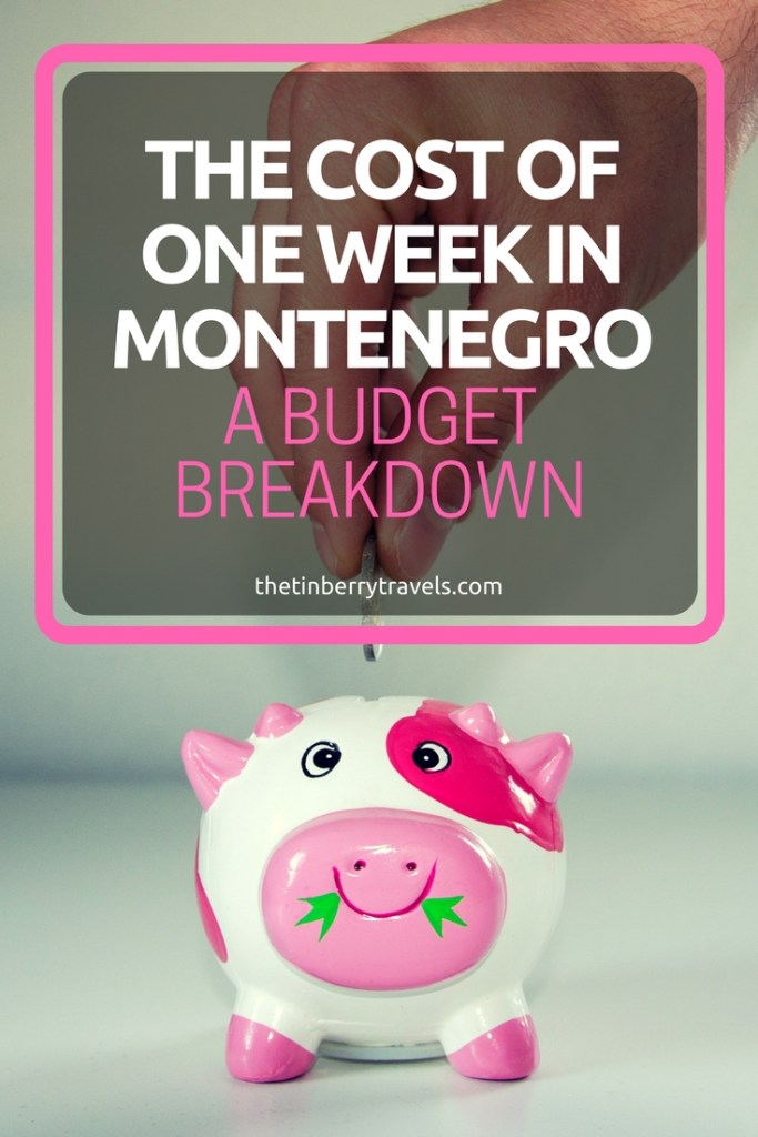 Need to know the cost of one week in Montenegro? We kept track of everything from burgers to bus fares. Check out our Montenegro budget breakdown complete with handy hints and tips for travel during the off-season. | Travel in Montenegro | #Montenegro #Europe