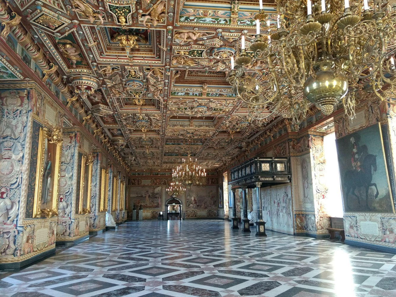 Frederiksborg Slot Main Hall