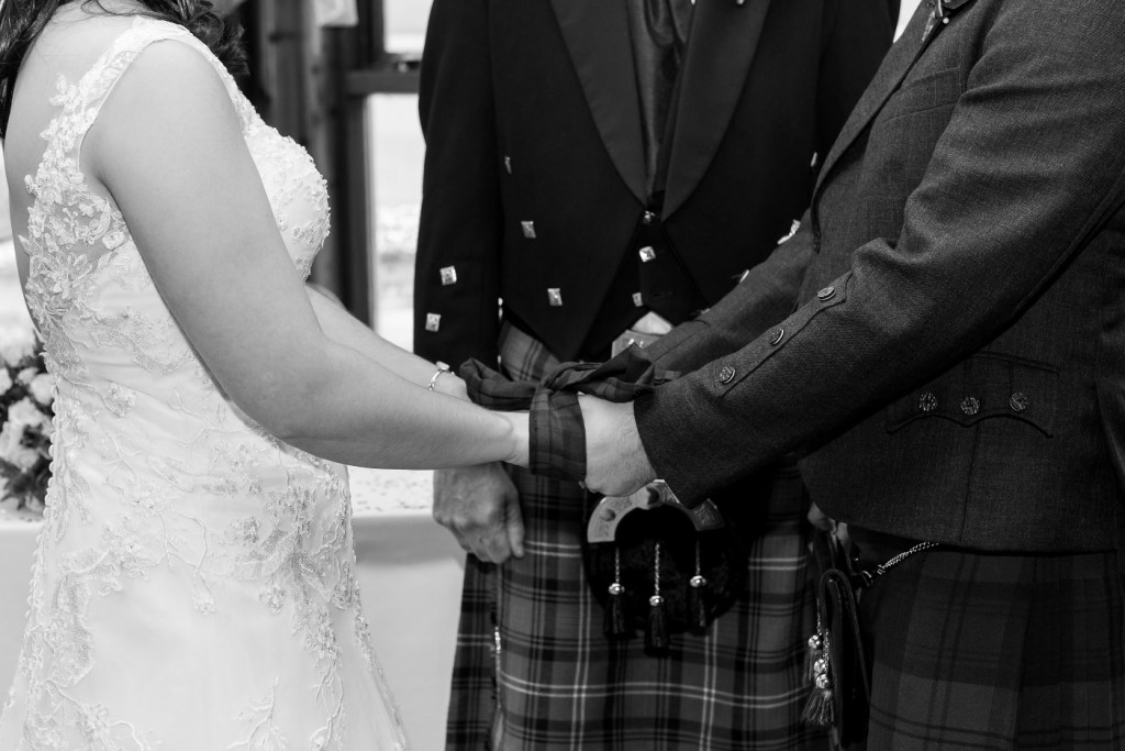 Scottish Wedding Hand Fasting