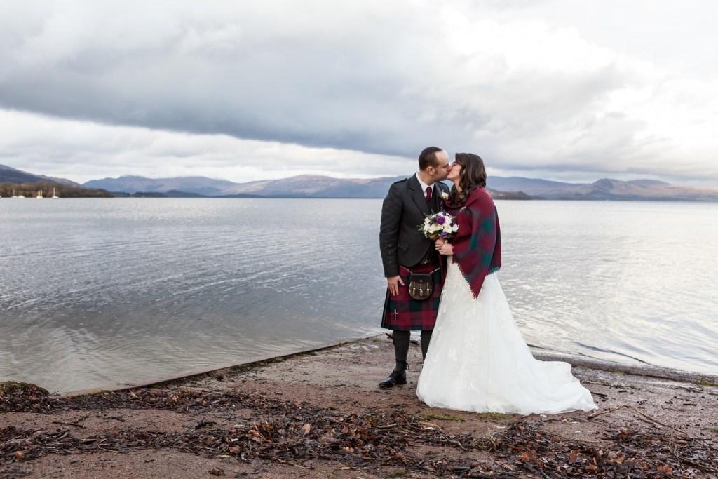 Loch Lomond Wedding View