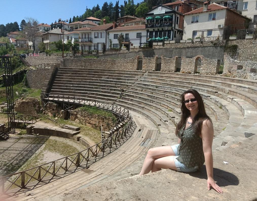 Ancient Theatre Ohrid Macedonia