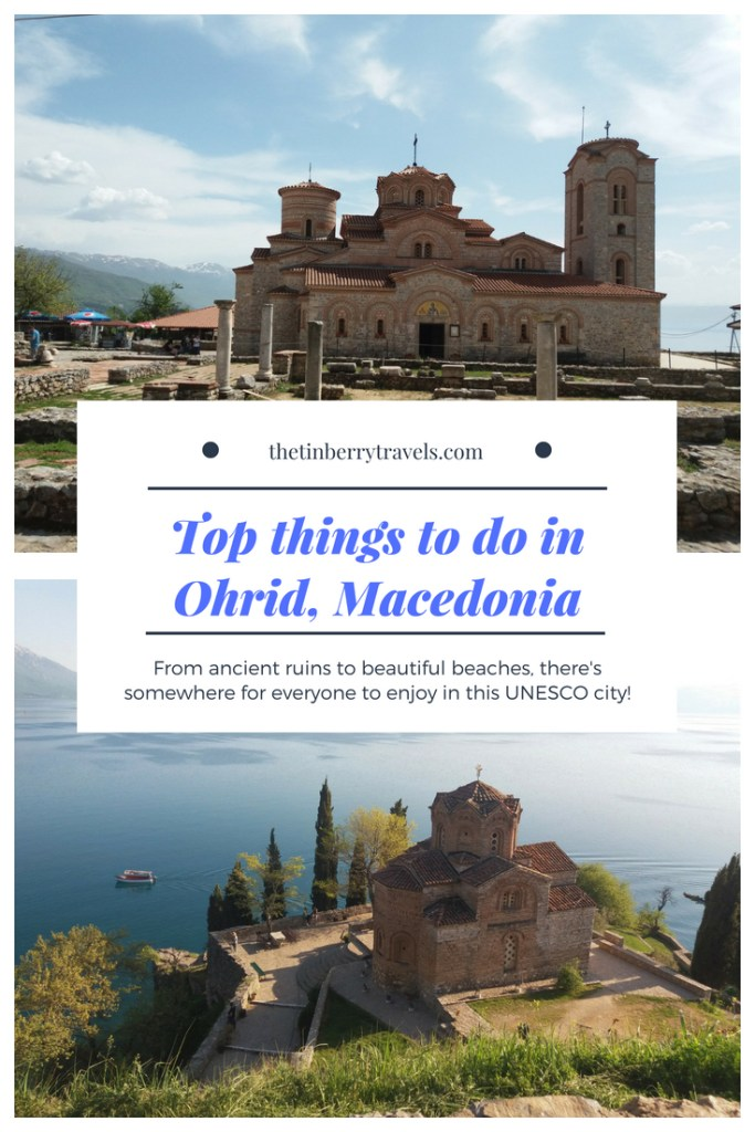 Heading to Lake Ohrid? Here's some top things to do in Ohrid, Macedonia! From ancient ruins to beautfiul beaches there's somthing for everyone in this UNESCO city. | What to do in Ohrid | See and Do Ohrid | #Ohrid #Macedonia #FYROM