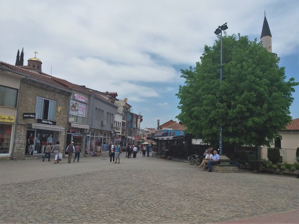 Ohrid Bazaar and Shopping streets