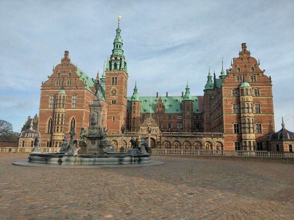 The Nepture Fountain and Frederiksborg