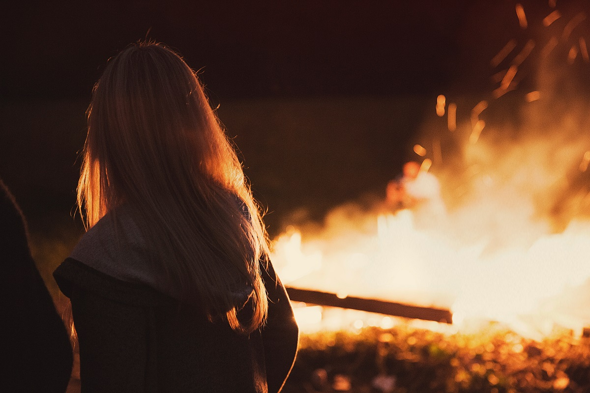 Bonfires are a key part of Halloween in Scotland