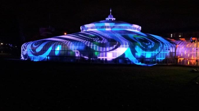 GlasGLOW in Glasgow Botanic Gardens