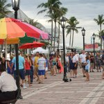 Mallory Square in Key West FL