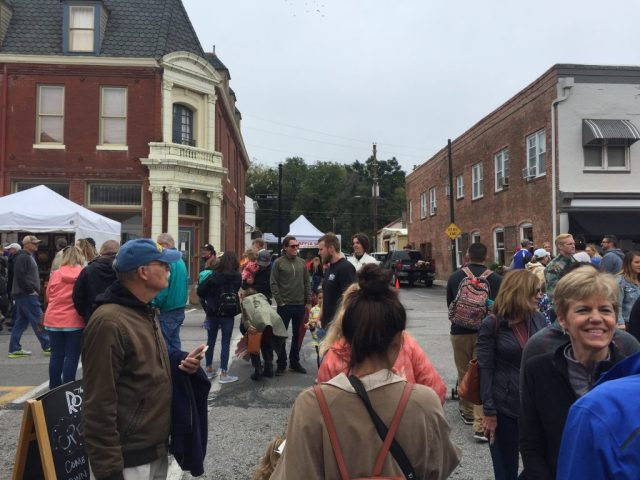 Applefest Celebration downtown Weston Missouri