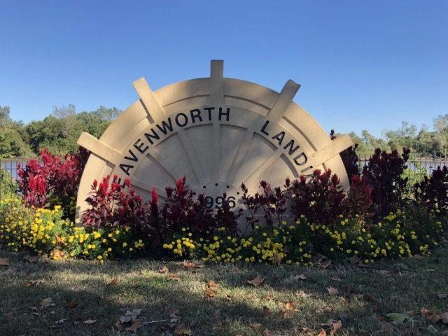 Leavenworth Landing park Leavenworth Kansas