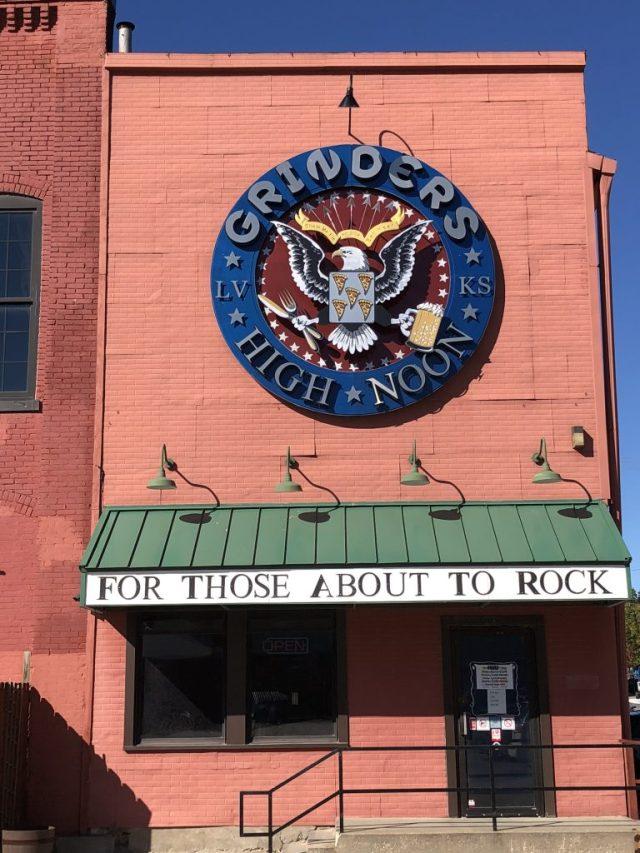 Grinders High Noon in Historic Downtown Leavenworth Kansas