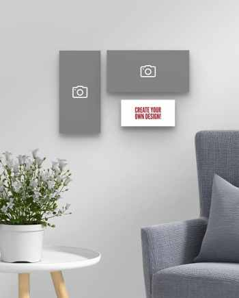 Create Your Own Set of 3 Wall Art boards