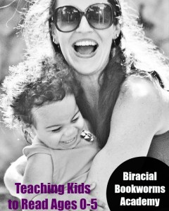 Teaching Kids to Read. Biracial Bookworms Academy
