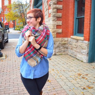 The Perfect Blanket Scarf for the Fall/Winter Season