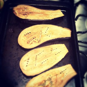 Roasted Aubergines