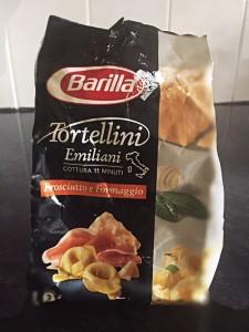 Barilla dry tortellini-prosciutto & Parmesan