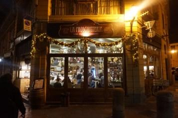 La Prosciutteria by night