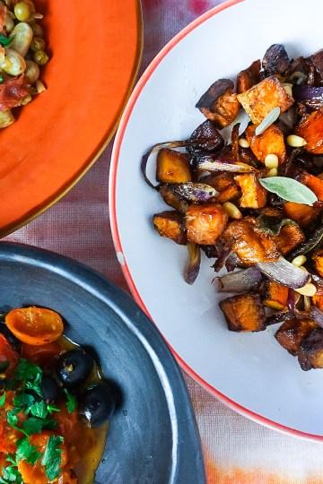 3 Italian vegetable sides