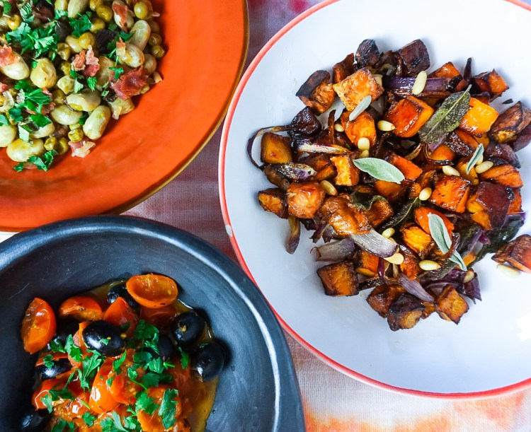 3 Italian vegetable sides