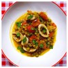 Puglian squid and pea stew