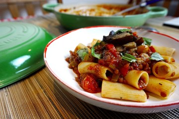lentil mushrooms ragu