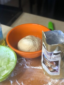 Dinner Rolls from The Prepared Pantry rising
